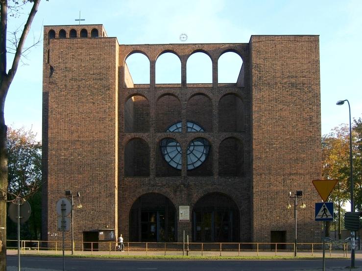 Zabrze_St._Joseph's_Church_facade PetrusSilesius